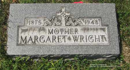 WRIGHT, MARGARET - Lucas County, Ohio | MARGARET WRIGHT - Ohio Gravestone Photos