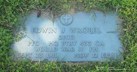 WROBEL, EDWIN J. - Lucas County, Ohio | EDWIN J. WROBEL - Ohio Gravestone Photos