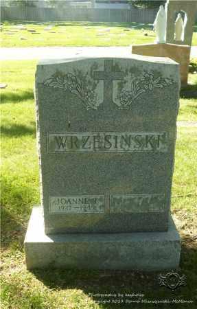 WRZESINSKI, JOANNE T. - Lucas County, Ohio | JOANNE T. WRZESINSKI - Ohio Gravestone Photos