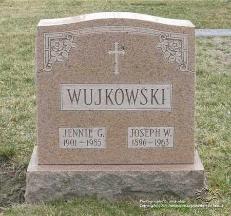 WUJKOWSKI, JENNIE G. - Lucas County, Ohio | JENNIE G. WUJKOWSKI - Ohio Gravestone Photos