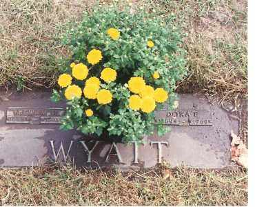 BECKING WYATT, DORA E - Lucas County, Ohio | DORA E BECKING WYATT - Ohio Gravestone Photos