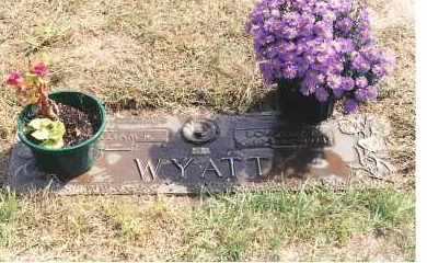 WYATT, WILLIAM R - Lucas County, Ohio | WILLIAM R WYATT - Ohio Gravestone Photos