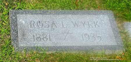 WYEK, ROSA L. - Lucas County, Ohio | ROSA L. WYEK - Ohio Gravestone Photos