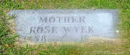 BEAUREGARD WYEK, ROSE - Lucas County, Ohio | ROSE BEAUREGARD WYEK - Ohio Gravestone Photos
