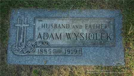 WYSIOLEK, ADAM - Lucas County, Ohio | ADAM WYSIOLEK - Ohio Gravestone Photos