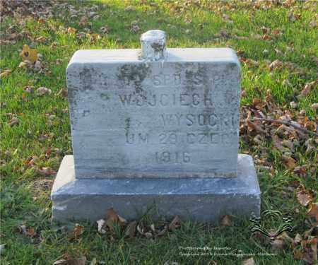 WYSOCKI, WOJCIECH - Lucas County, Ohio | WOJCIECH WYSOCKI - Ohio Gravestone Photos