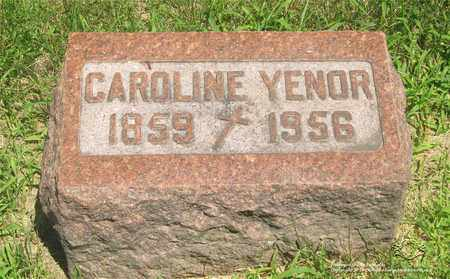 YENOR, CAROLINE - Lucas County, Ohio | CAROLINE YENOR - Ohio Gravestone Photos