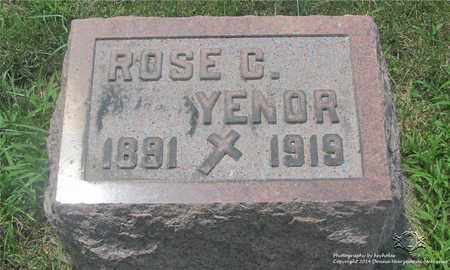 YENOR, ROSE C. - Lucas County, Ohio | ROSE C. YENOR - Ohio Gravestone Photos