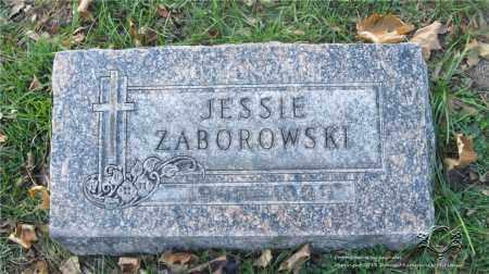 ZABOROWSKI, JESSIE - Lucas County, Ohio | JESSIE ZABOROWSKI - Ohio Gravestone Photos
