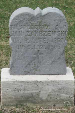 ZAKRZEWSKI, JAN - Lucas County, Ohio | JAN ZAKRZEWSKI - Ohio Gravestone Photos