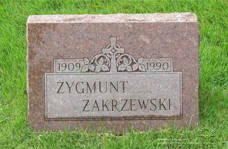 ZAKRZEWSKI, ZYGMUNT - Lucas County, Ohio | ZYGMUNT ZAKRZEWSKI - Ohio Gravestone Photos