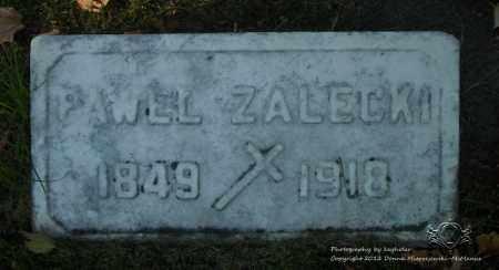 ZALECKI, PAWEL - Lucas County, Ohio | PAWEL ZALECKI - Ohio Gravestone Photos