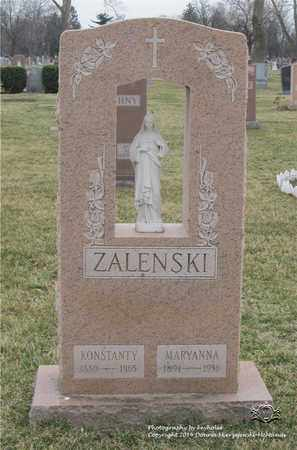 ZALENSKI, MARYANNA - Lucas County, Ohio | MARYANNA ZALENSKI - Ohio Gravestone Photos