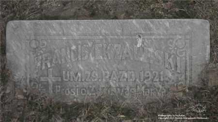 ZALESKI, FRANCISZEK - Lucas County, Ohio | FRANCISZEK ZALESKI - Ohio Gravestone Photos