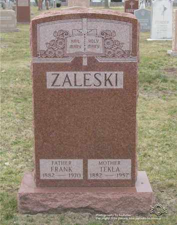 ZALESKI, TEKLA - Lucas County, Ohio | TEKLA ZALESKI - Ohio Gravestone Photos