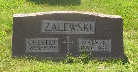 ZALEWSKI, MARY B. - Lucas County, Ohio | MARY B. ZALEWSKI - Ohio Gravestone Photos