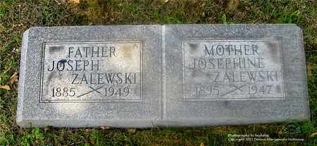 ZALEWSKI, JOSEPHINE - Lucas County, Ohio | JOSEPHINE ZALEWSKI - Ohio Gravestone Photos