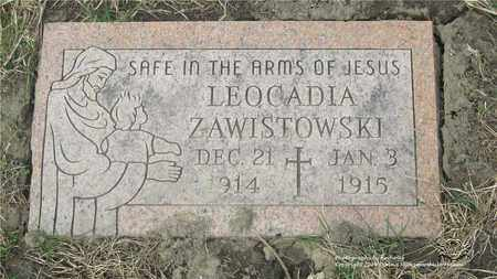 ZAWISTOWSKI, LADISLAUS - Lucas County, Ohio | LADISLAUS ZAWISTOWSKI - Ohio Gravestone Photos