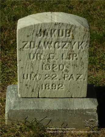 ZDAWCZYK, JAKUB - Lucas County, Ohio | JAKUB ZDAWCZYK - Ohio Gravestone Photos