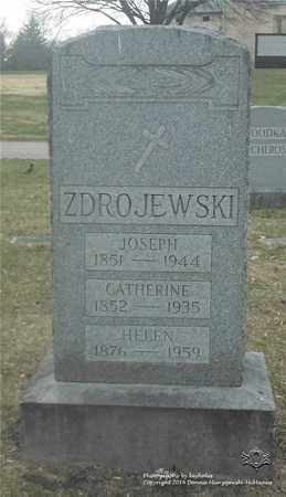 WOZNIAK ZDROJEWSKI, CATHERINE - Lucas County, Ohio | CATHERINE WOZNIAK ZDROJEWSKI - Ohio Gravestone Photos