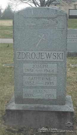 ZDROJEWSKI, CATHERINE - Lucas County, Ohio | CATHERINE ZDROJEWSKI - Ohio Gravestone Photos