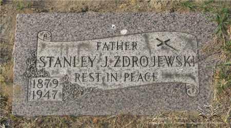 ZDROJEWSKI, STANLEY J. - Lucas County, Ohio | STANLEY J. ZDROJEWSKI - Ohio Gravestone Photos