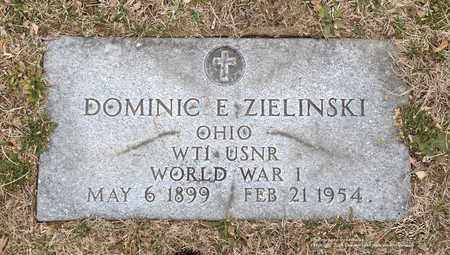 ZIELINSKI, DOMINIC E. - Lucas County, Ohio | DOMINIC E. ZIELINSKI - Ohio Gravestone Photos