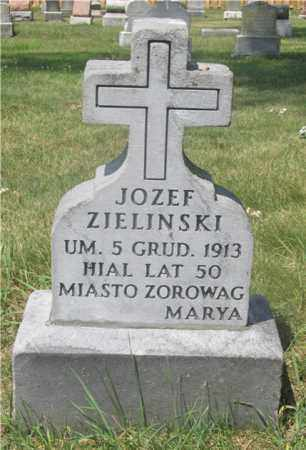 ZIELINSKI, JOZEF - Lucas County, Ohio | JOZEF ZIELINSKI - Ohio Gravestone Photos