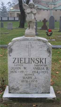MRUK ZIELINSKI, MARY J. - Lucas County, Ohio | MARY J. MRUK ZIELINSKI - Ohio Gravestone Photos