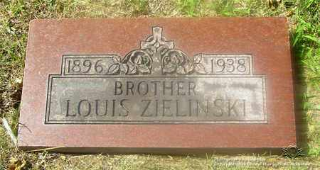 ZIELINSKI, LOUIS - Lucas County, Ohio | LOUIS ZIELINSKI - Ohio Gravestone Photos