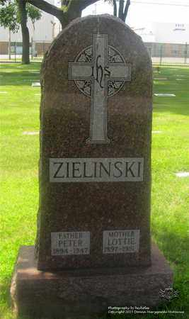 ZIELINSKI, LOTTIE - Lucas County, Ohio | LOTTIE ZIELINSKI - Ohio Gravestone Photos
