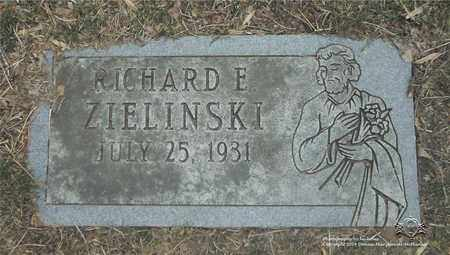 ZIELINSKI, RICHARD E. - Lucas County, Ohio | RICHARD E. ZIELINSKI - Ohio Gravestone Photos