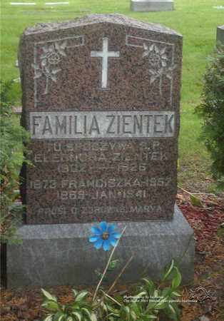ZIENTEK, JAN - Lucas County, Ohio | JAN ZIENTEK - Ohio Gravestone Photos