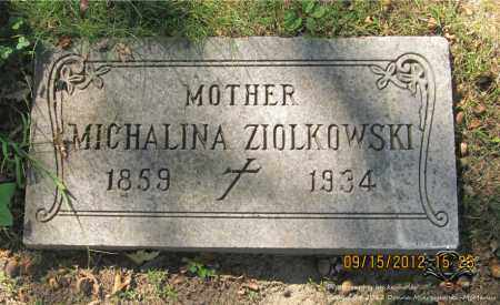 ZIOLKOWSKI, MICHALINA - Lucas County, Ohio | MICHALINA ZIOLKOWSKI - Ohio Gravestone Photos