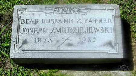 ZMUDZIEJEWSKI, JOSEPH - Lucas County, Ohio | JOSEPH ZMUDZIEJEWSKI - Ohio Gravestone Photos