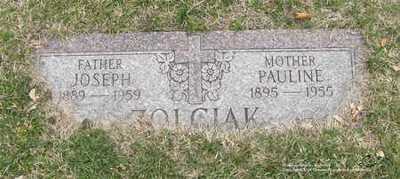 ZOLCIAK, PAULINE - Lucas County, Ohio | PAULINE ZOLCIAK - Ohio Gravestone Photos