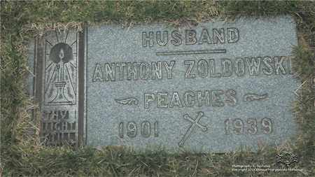 ZOLDOWSKI, ANTHONY - Lucas County, Ohio | ANTHONY ZOLDOWSKI - Ohio Gravestone Photos