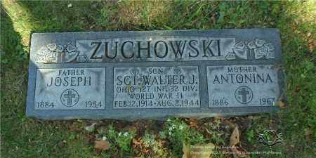 ZUCHOWSKI, ANTONINA - Lucas County, Ohio | ANTONINA ZUCHOWSKI - Ohio Gravestone Photos
