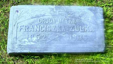JOZWIAK ZULKA, FRANCISZKA - Lucas County, Ohio | FRANCISZKA JOZWIAK ZULKA - Ohio Gravestone Photos