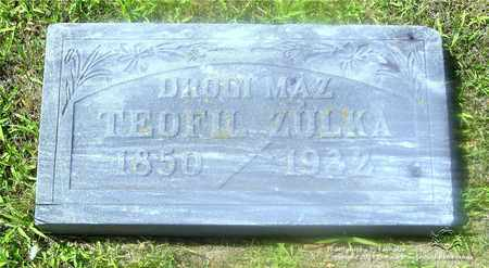 ZULKA, TEOFIL - Lucas County, Ohio | TEOFIL ZULKA - Ohio Gravestone Photos
