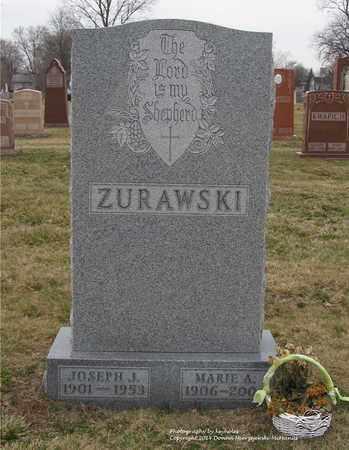 ZURAWSKI, MARIE A. - Lucas County, Ohio | MARIE A. ZURAWSKI - Ohio Gravestone Photos