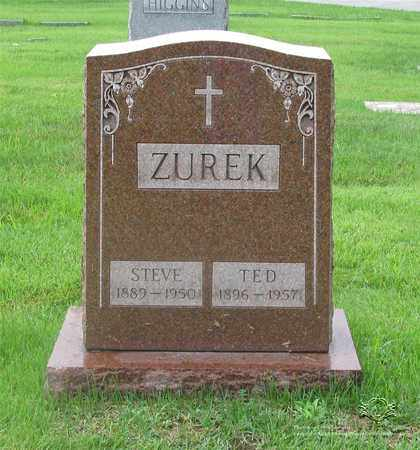 ZUREK, STEVE - Lucas County, Ohio | STEVE ZUREK - Ohio Gravestone Photos