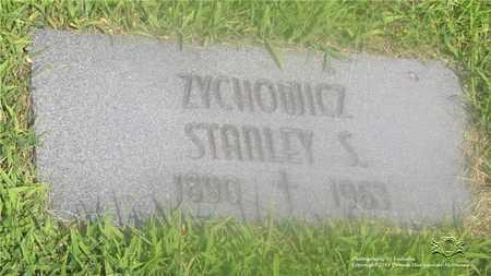 ZYCHOWICZ, STANLEY S. - Lucas County, Ohio | STANLEY S. ZYCHOWICZ - Ohio Gravestone Photos