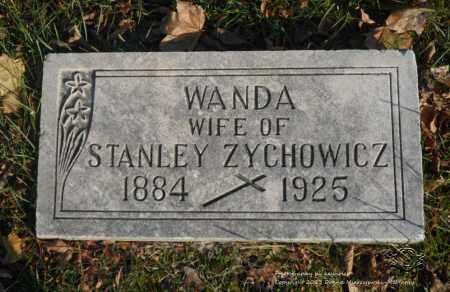 ZYCHOWICZ, WANDA - Lucas County, Ohio | WANDA ZYCHOWICZ - Ohio Gravestone Photos