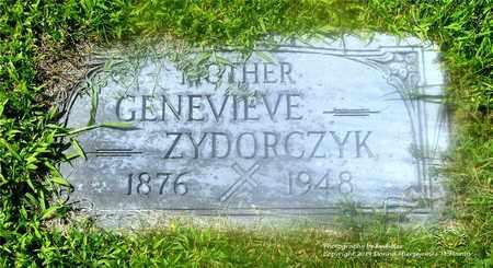 CZAJKOWSKI ZYDORCZYK, GENEVIEVE - Lucas County, Ohio | GENEVIEVE CZAJKOWSKI ZYDORCZYK - Ohio Gravestone Photos