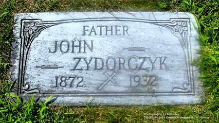 ZYDORCZYK, JOHN - Lucas County, Ohio | JOHN ZYDORCZYK - Ohio Gravestone Photos