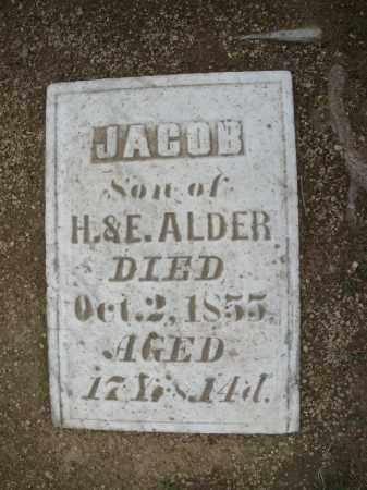 ALDER, JACOB - Madison County, Ohio   JACOB ALDER - Ohio Gravestone Photos