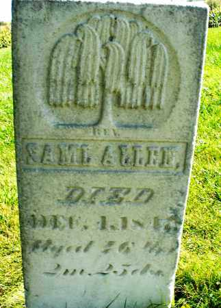 ALLEN, SAMUEL - Madison County, Ohio | SAMUEL ALLEN - Ohio Gravestone Photos