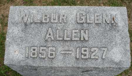 ALLEN, WILBUR GLENN - Madison County, Ohio | WILBUR GLENN ALLEN - Ohio Gravestone Photos