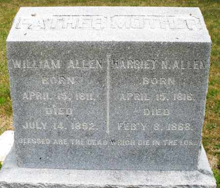 ALLEN, WILLIAM - Madison County, Ohio | WILLIAM ALLEN - Ohio Gravestone Photos